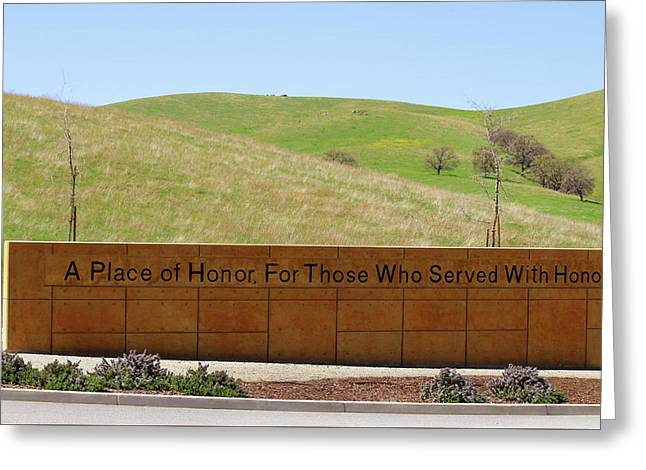 A Place Of Honor Greeting Card