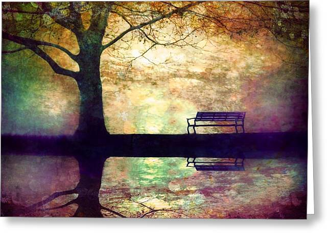 A Place To Rest In The Dark Greeting Card