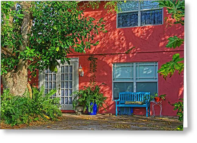 A Quiet Respite Greeting Card by HH Photography of Florida