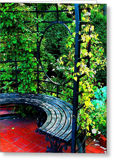 A Quiet Spot To Rest Greeting Card