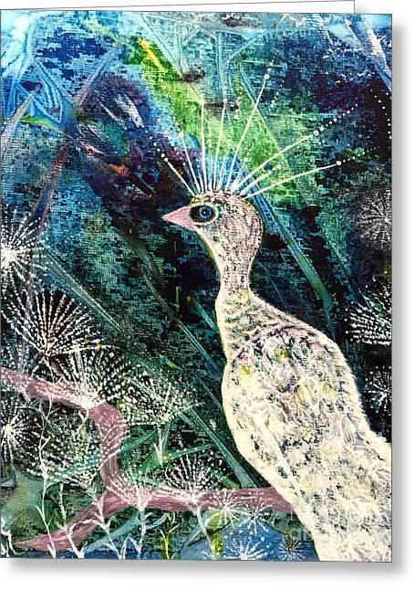 A Rare Bird Greeting Card