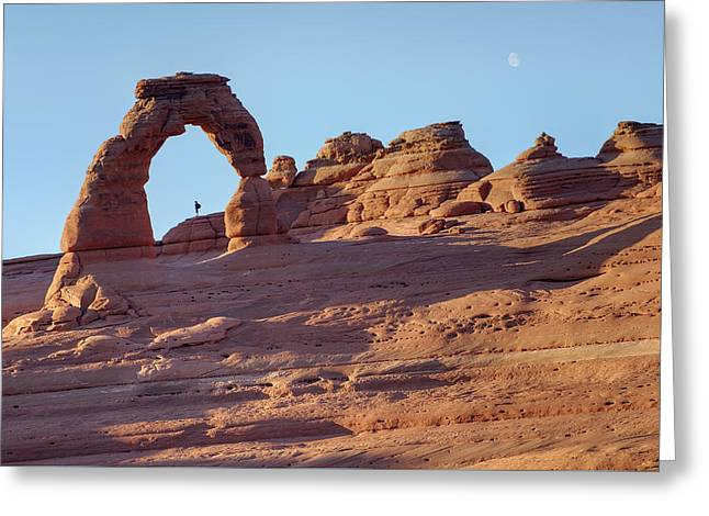 A Red Rock Wonderland. Greeting Card