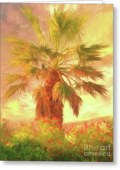 Greeting Card featuring the photograph A Refreshing Change Of Scenery by Leigh Kemp