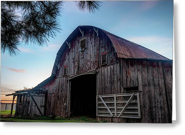 A Relic Of The Past - Old Barn Photography Greeting Card by Gregory Ballos