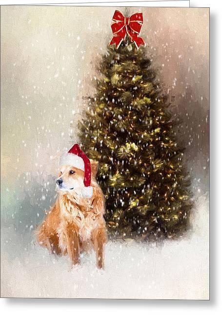 A Retriever Kind Of Christmas Greeting Card