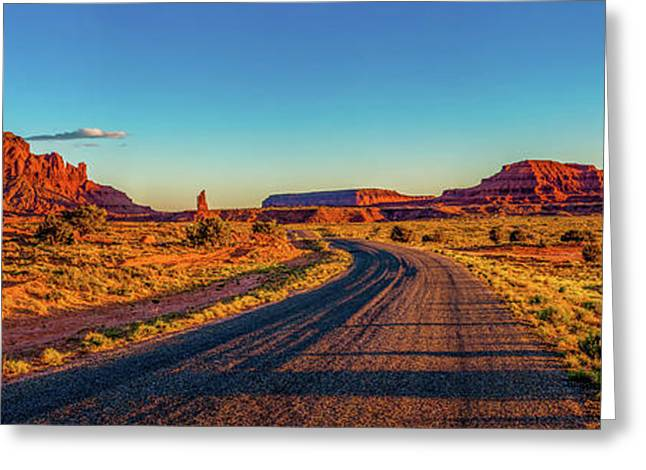 A Road Less Travelled Greeting Card by Az Jackson
