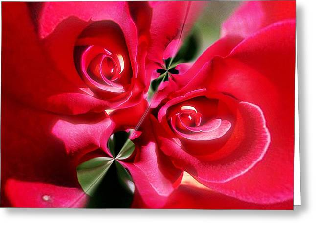A Rose By Any Other Name Greeting Card by Blair Stuart