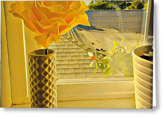 A Rose Is A Rose Electric Greeting Card