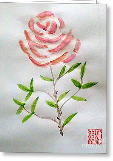 A Rose Is A Rose Is A Rose Greeting Card