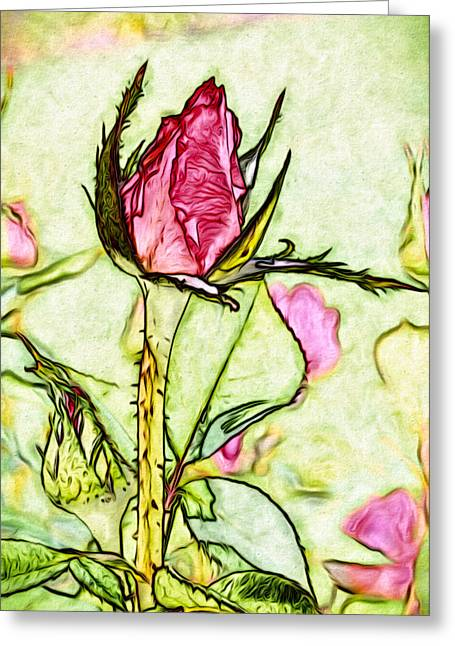 A Rose Is Still A Rose Greeting Card