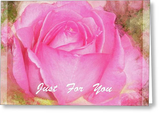 A Rose Pastel Soft Sorbet 5 Greeting Card by Mona Stut