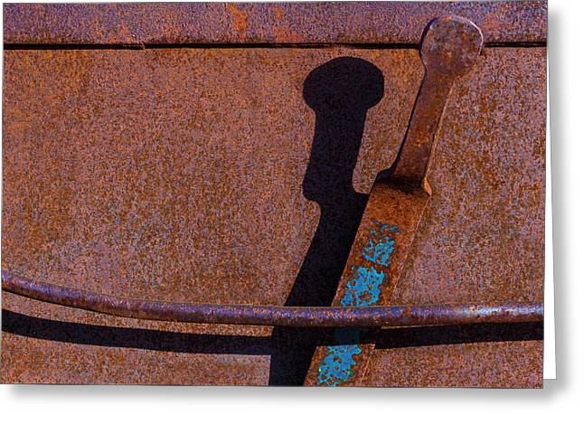 Greeting Card featuring the photograph A Rusted Development II by Paul Wear