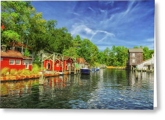 A Safe Harbor Welcomes You Greeting Card