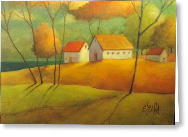 A Safe Haven Greeting Card by Eleatta Diver