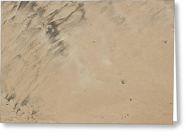 A Sand Background Greeting Card