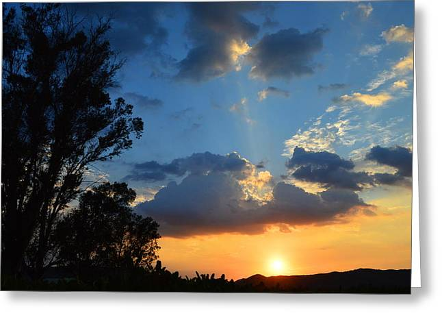 Greeting Card featuring the photograph A Serene Moment by Glenn McCarthy Art and Photography
