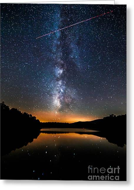 A Shooting Star Greeting Card