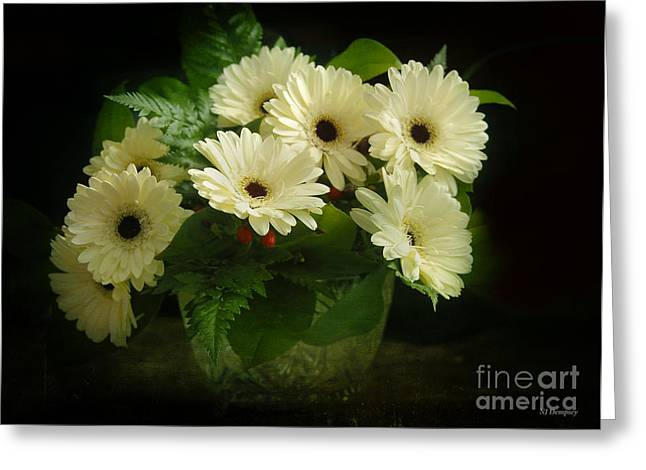 A Simple Bouquet Greeting Card by Nancy Dempsey
