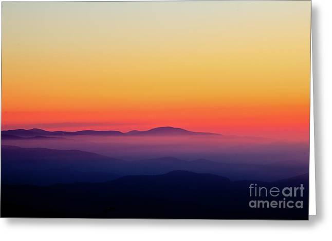 Greeting Card featuring the photograph A Simple Sunrise by Douglas Stucky
