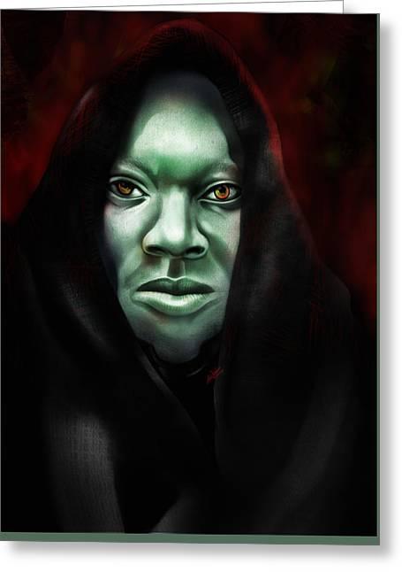A Sith Fan Greeting Card