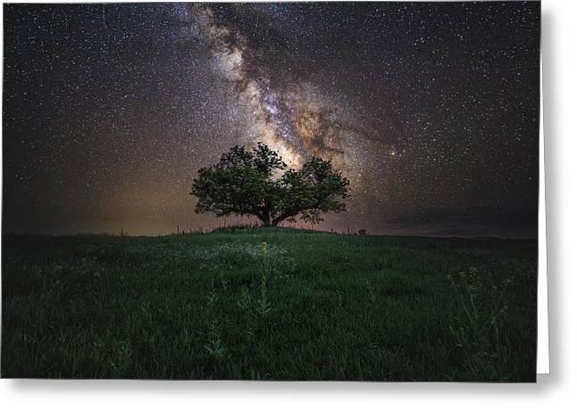 A Sky Full Of Stars Greeting Card