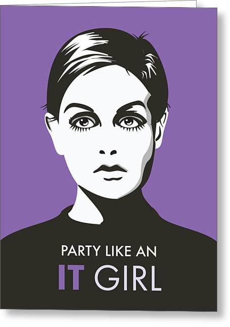 A Snark It Girl  Greeting Card