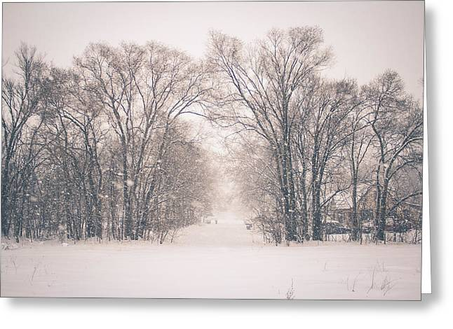 A Snowy Monday Greeting Card