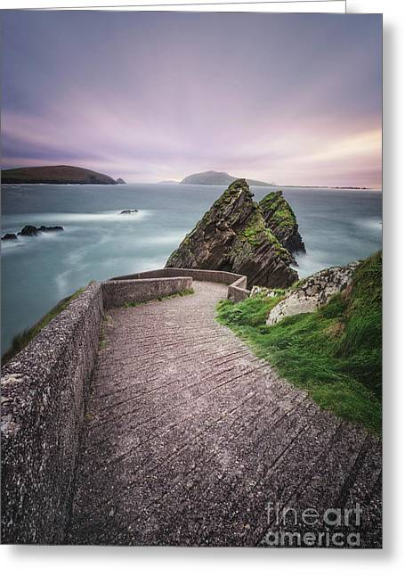 A Song For Ireland Greeting Card by Evelina Kremsdorf