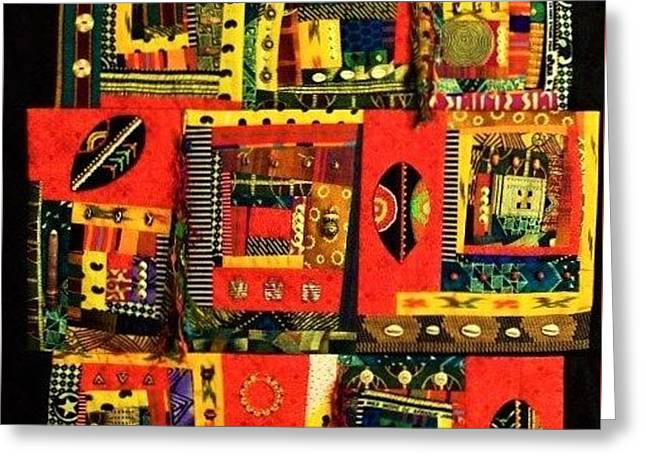 A Song For The Maasai Greeting Card