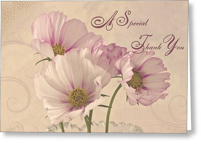 A Special Thank You - Card Greeting Card