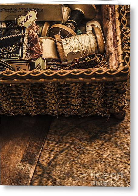 A Stitch In Time Greeting Card by Jorgo Photography - Wall Art Gallery