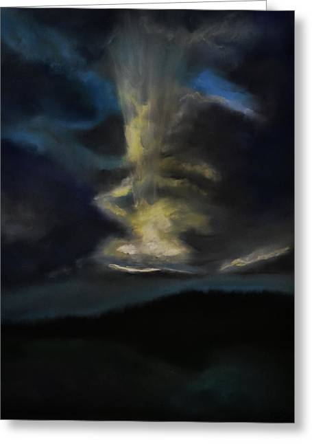 A Storm Is Coming Greeting Card by Dave Griffiths
