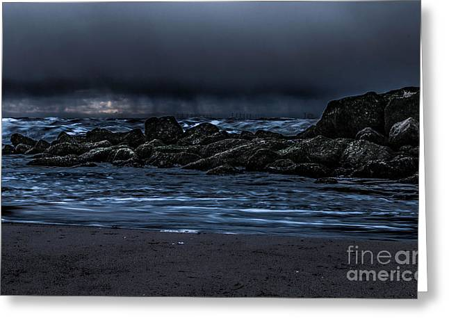A Stormy Sky  Greeting Card by Chris Evans