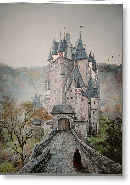 A Story At Eltz Castle Greeting Card