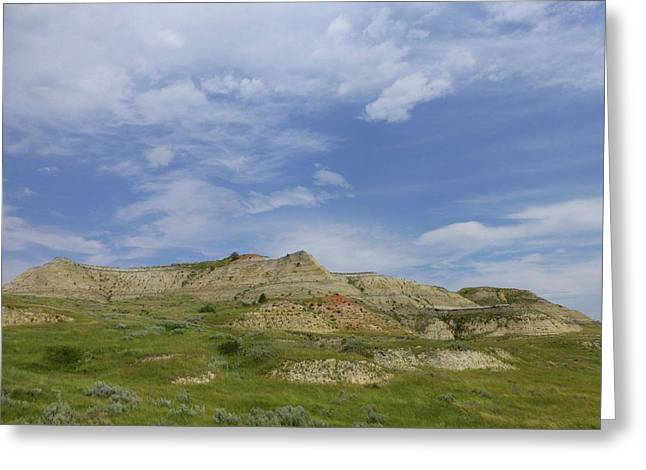 A Summer Day In Dakota Greeting Card
