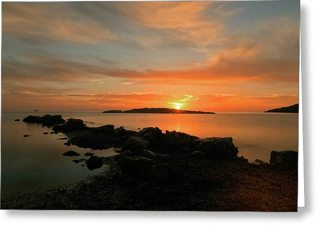 A Sunset In Ibiza Greeting Card