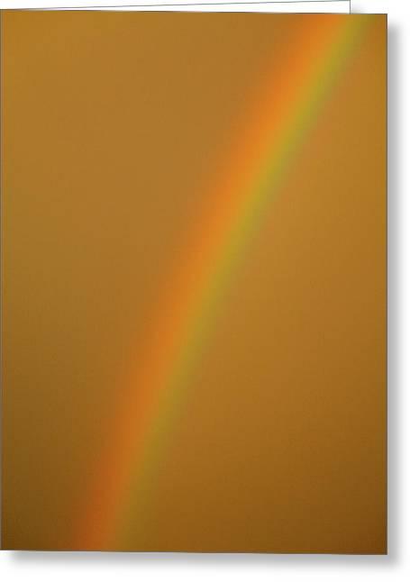 A Sunset Rainbow Greeting Card