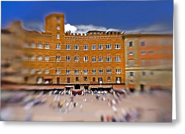 A Surreal Siena Greeting Card by Marilyn Hunt