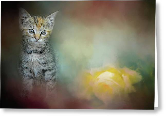 A Sweet Moment 2 Greeting Card by Jai Johnson