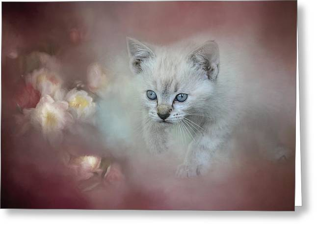 A Sweet Moment 3 Greeting Card by Jai Johnson