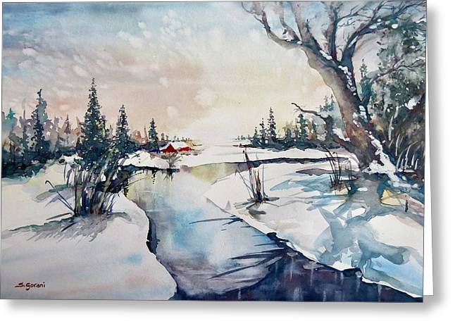 A Taste Of Winter Greeting Card