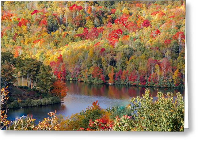 A Tennessee Autumn Greeting Card by Debbie Karnes