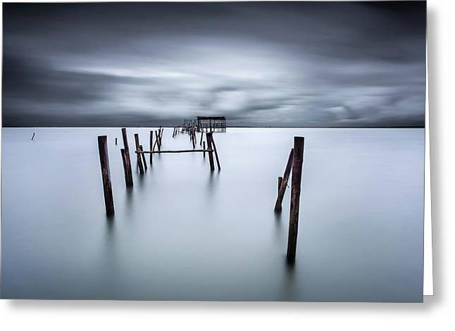 A Test Of Time Greeting Card by Jorge Maia