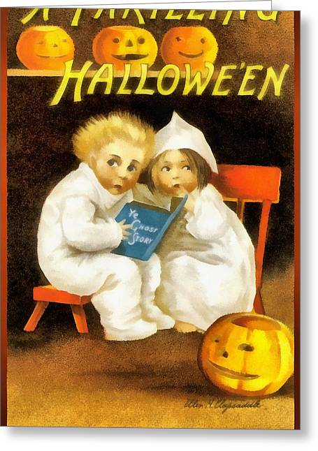 A Thrilling Halloween Greeting Card by Unknown