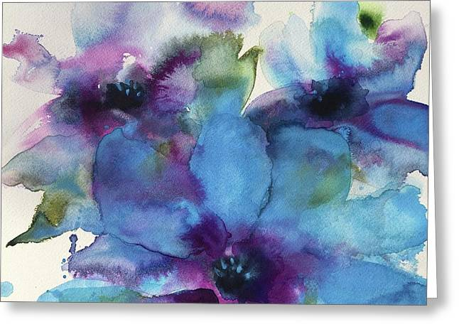 A Time To Bloom Greeting Card