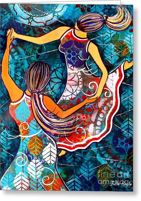 A Time To Dance Greeting Card by Julie Hoyle
