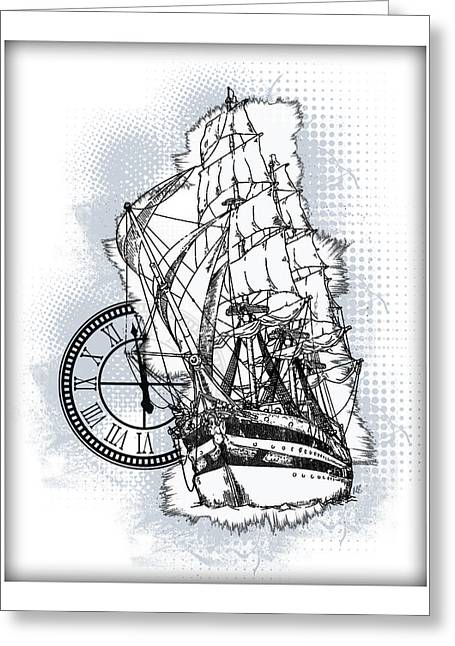 A Time To Sail 2 Greeting Card