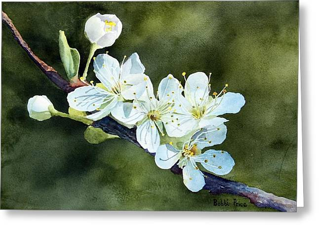 A Touch Of Innocence Greeting Card by Bobbi Price