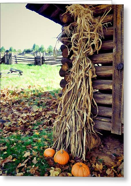 A Touch Of October Greeting Card