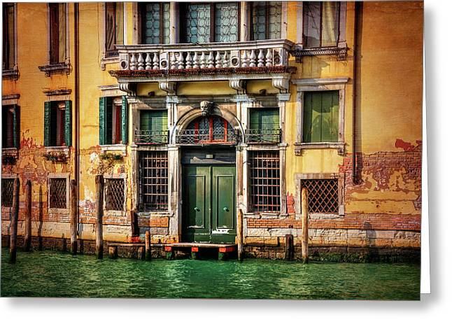 A Venetian Door  Greeting Card